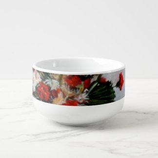 Bodegón of flowers/Still life of flowers Soup Mug