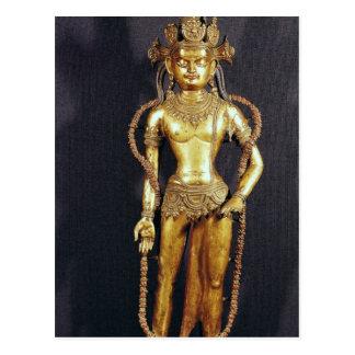 Bodhisattva Avalokitecvara, 15th-16th century Postcard