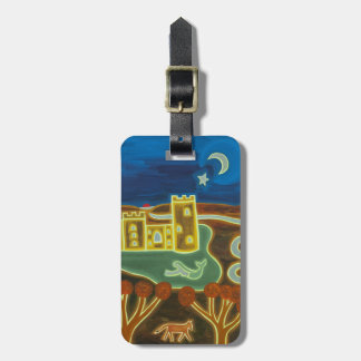 Bodiam Castle by Moonlight 2010 Luggage Tag