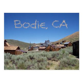 Bodie California Postcard