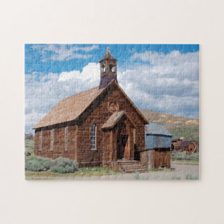 Bodie Ghost Town California. Jigsaw Puzzle