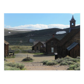 Bodie Ghost Town Postcard