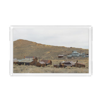 Bodie Ghost Town Rectangular Tray