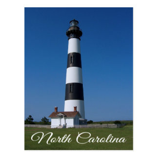 Bodie Island Lighthouse, Nags Head North Carolina Postcard