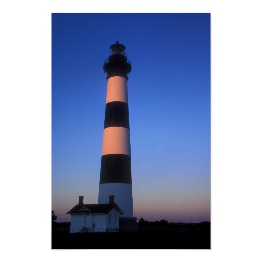 Bodie Island Lighthouse North Carolina Outer Banks Poster