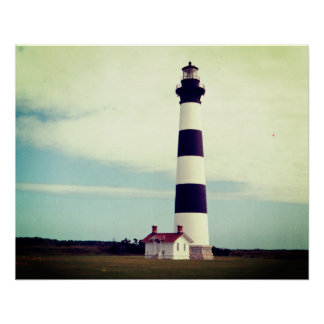Bodie Island Lighthouse Perfect Poster
