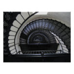 Bodie Island Lighthouse Stairwell Poster