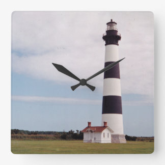 Bodie Island Lighthouse Wall Clock