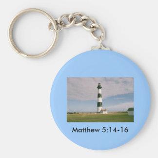 Bodie Lighthouse, Matthew 5:14-16 Keychain