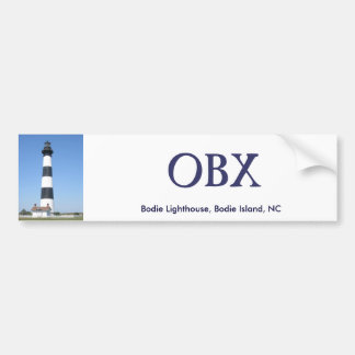 Bodie Lighthouse OBX Bumper Sticker