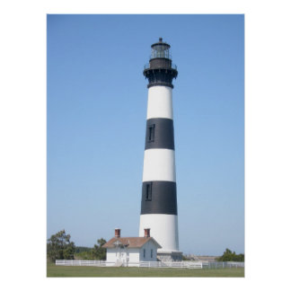 Bodie Lighthouse Poster