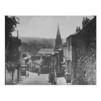 Bodmin Hill, Lostwithiel, Cornwall Postcard