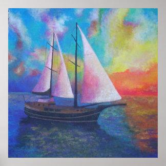 Bodrum Turquoise Coast Gulet Cruise Poster