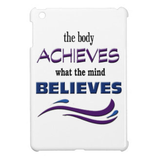 Body Achieves, Mind Believes Case For The iPad Mini