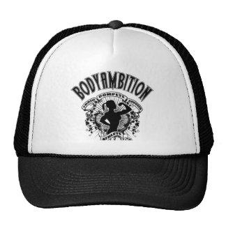 Body Ambition women's logo black Trucker Hat