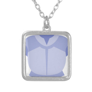 Body Armor Silver Plated Necklace