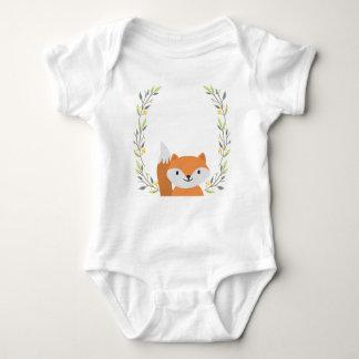 Body Bébé Onsie de Fox de forêt de région boisée