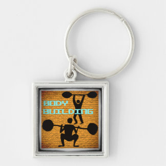 BODY BUILDING Keychain