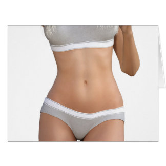 Body Contour Shaping and Aesthetic Industry Big Greeting Card