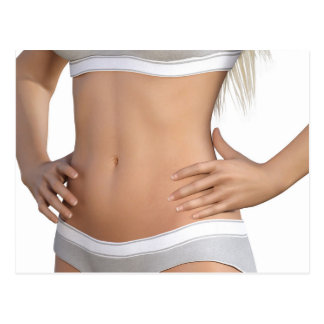 Body Contour Shaping and Aesthetic Industry Postcard