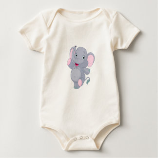 BODY ELEPHANT FOR DRINKS. FashionFC Baby Bodysuit