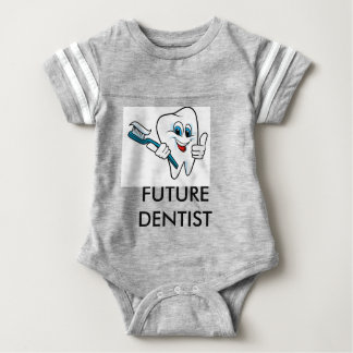 "Body for baby ""Future dentist "" Baby Bodysuit"