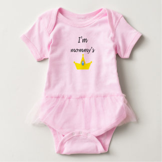 Body for baby princessinha of the mother baby bodysuit