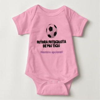 Body for baby soccer player baby bodysuit