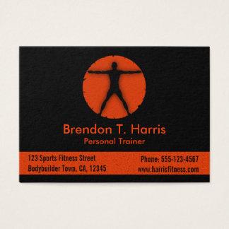 Body Madness Fitness Instructor Large Biz Card