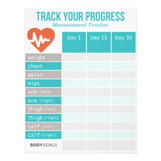 Body Measurement Tracker Letterhead