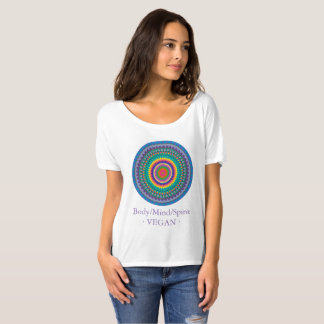 Body, Mind and Spirit in Balance. Vegan. T-Shirt