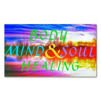 BODY MIND SOUL HEALING MAGNET