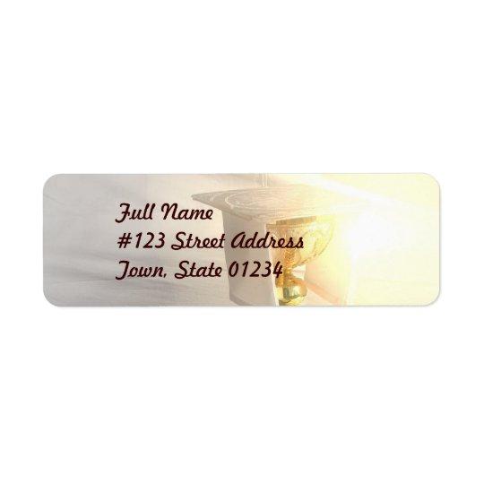 Body of Christ Mailing Label Return Address Label