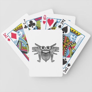 Body Part Monster Illustration Bicycle Playing Cards