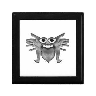 Body Part Monster Illustration Gift Box