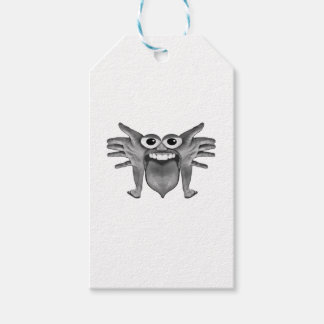 Body Part Monster Illustration Gift Tags