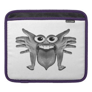 Body Part Monster Illustration iPad Sleeve