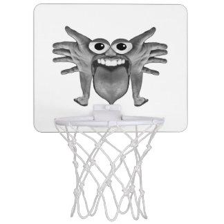 Body Part Monster Illustration Mini Basketball Hoop