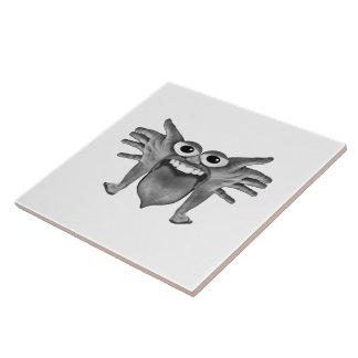 Body Part Monster Illustration Tile