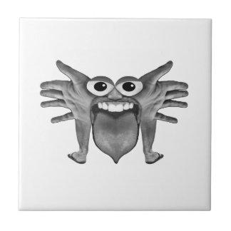 Body Part Monster Illustration Tile