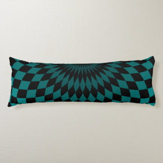 Body Pillow - Wonderland Floor Turquoise