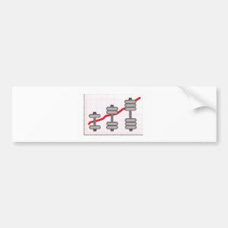 Body progress bumper sticker