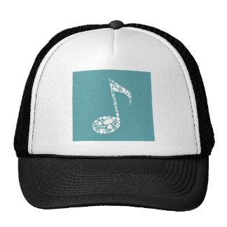 Body the note trucker hat