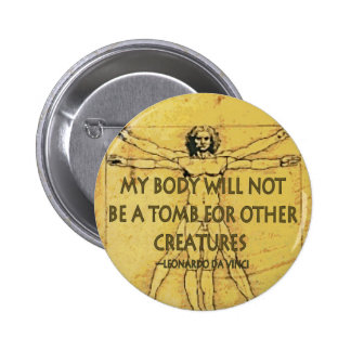 Body Tomb 2 Inch Round Button