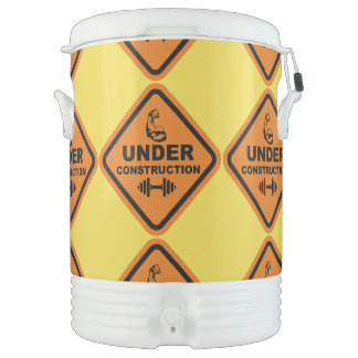 Body Under Construction Cooler