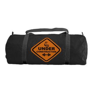 Body Under Construction Gym Bag