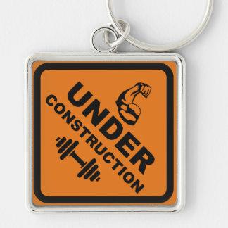 Body Under Construction Keychain