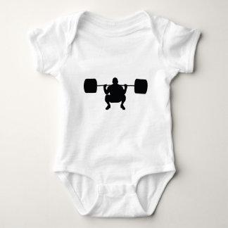 Bodybuilder Baby Bodysuit