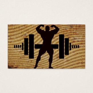 Bodybuilder Business Cards