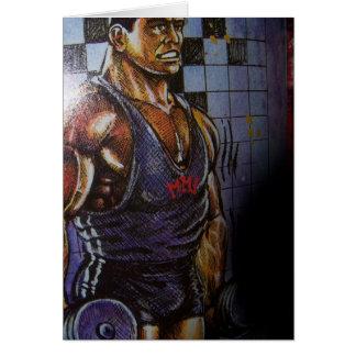 Bodybuilder card